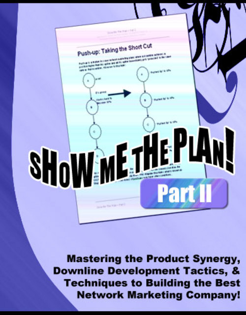 Product picture Show Me The Plan! - Part 2 with PLR/MRR Rights