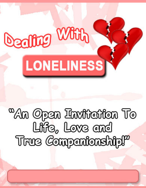 Product picture Dealing With Loneliness with PLR/MRR Rights